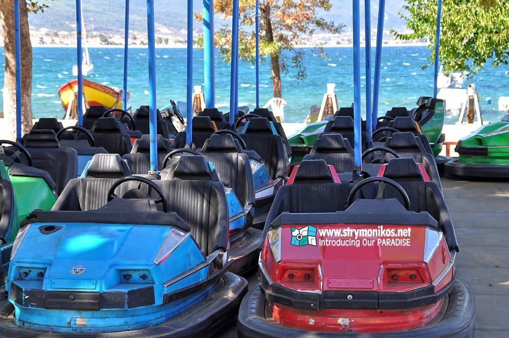 Stavros Luna Park cars